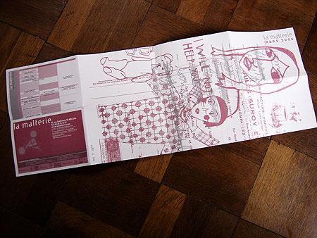 Programme mars 2005 la malterie et voil le travail - Rue de quesnoy wambrechies ...