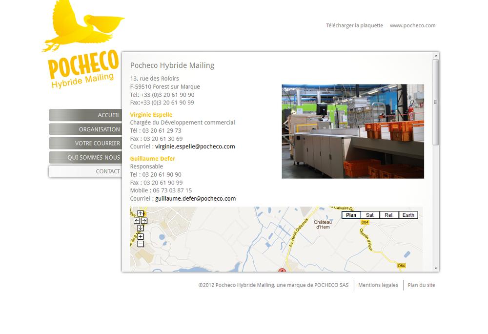 Pocheco hybride mailing et voil le travail - Rue de quesnoy wambrechies ...