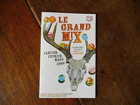 Le grand mix programme 1er trimestre 2008 et voil le travail - Rue de quesnoy wambrechies ...